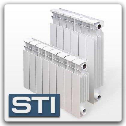 Биметаллические и алюминиевые радиаторы отопления tenrad